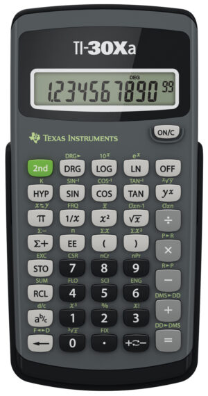 TI-30XA wetenschappelijke rekenmachine
