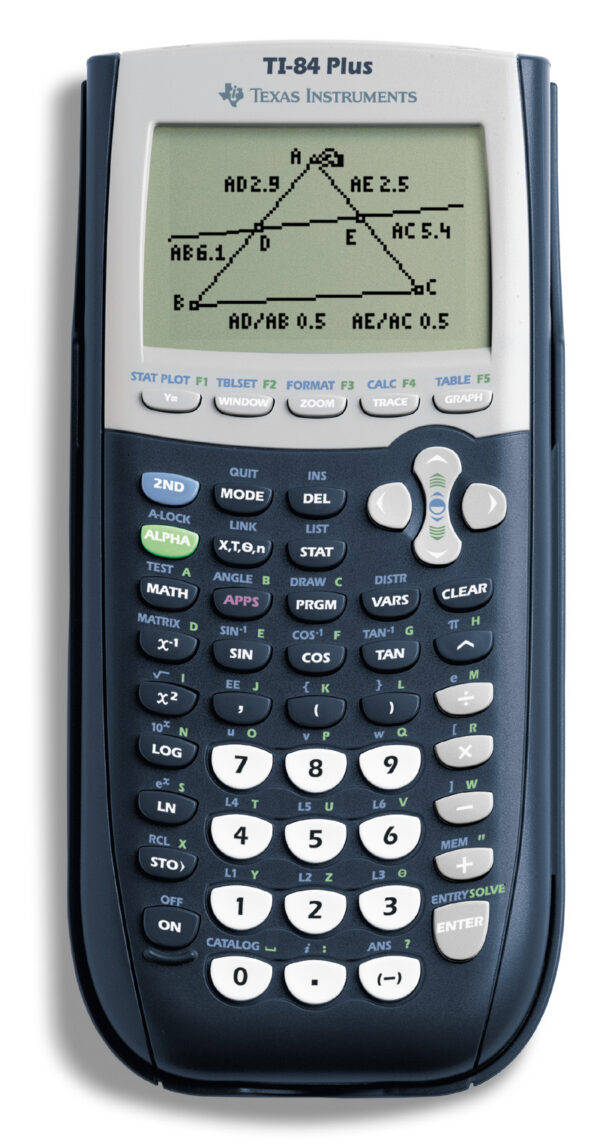 TI-84 Plus grafische rekenmachine